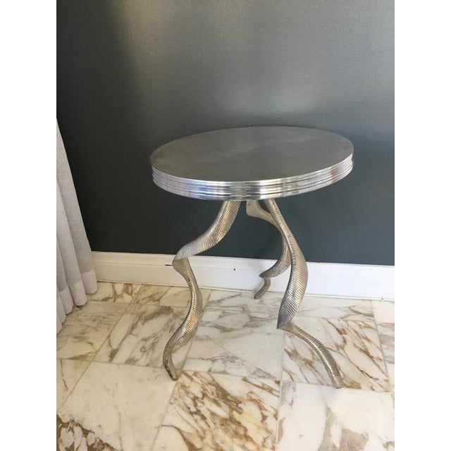Ibex Horn Side Table For Sale In New York - Image 6 of 6