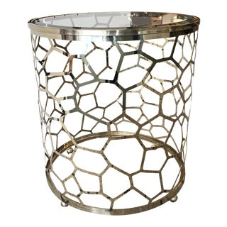 Crushed Ice New Accent Table by Caracole For Sale