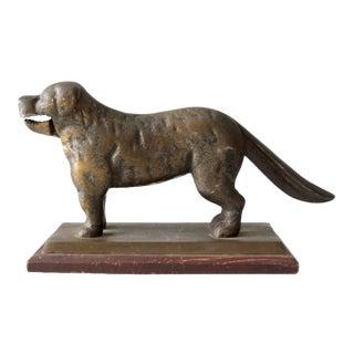 Antique Brass Dog Nutcracker For Sale