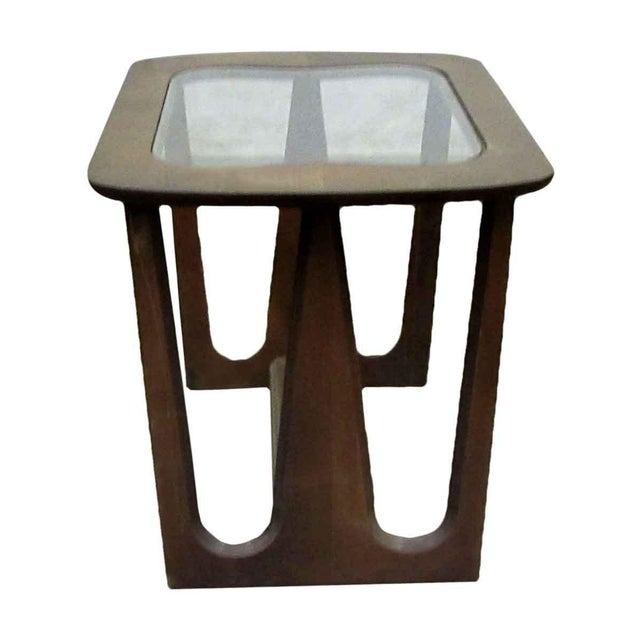 Mid-Century Style Wood End Table For Sale - Image 5 of 7