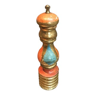 Vintage Italian Florentine Pepper Mill For Sale