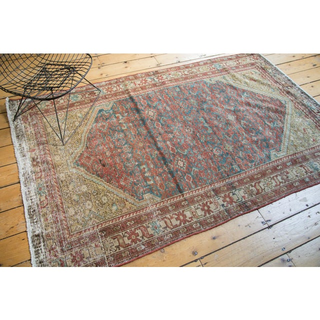"Antique Malayer Rug - 4'1"" x 6'7"" - Image 4 of 10"