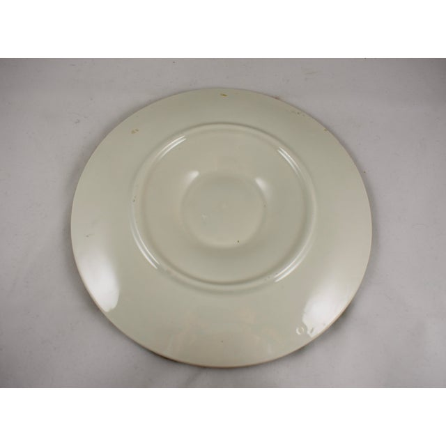 St. Clément French Basketweave & Rope Oyster Plate - Image 6 of 7