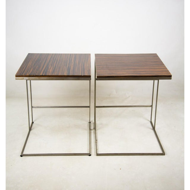 1990s Desiron Lap Tables - a Pair For Sale - Image 13 of 13