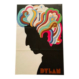 "1966 Vintage Milton Glaser ""Dylan"" Poster For Sale"