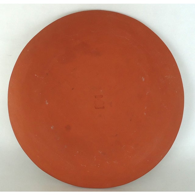 Marbled Redware Pottery Catchall Dish - Image 7 of 8
