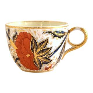 Antique Georgian C. 1805 New Hall Staffordshire Porcelain Teacup For Sale