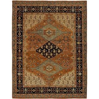 1990s Turkish Handmade Wool Rug - 7′ × 10′ For Sale