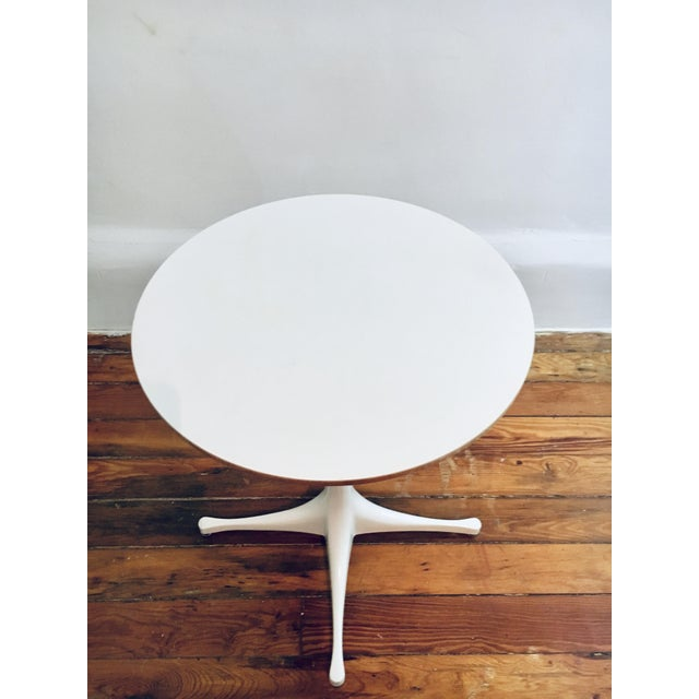Mid-Century Modern Herman Miller George Nelson Pedestal Side Table Mid Century Modern Eames For Sale - Image 3 of 9