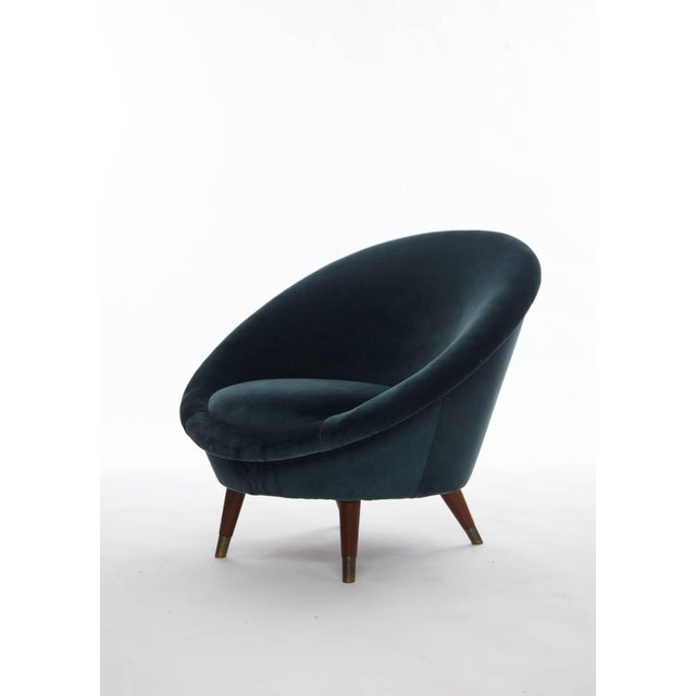 Mid 20th Century Rare 1950s Norwegian Egg Chair For Sale - Image 5 of 5