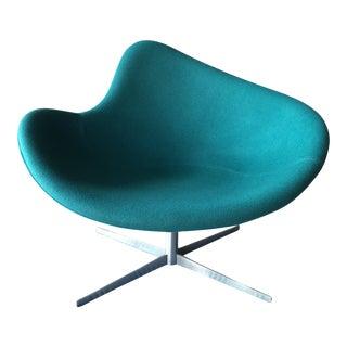 K2 Swivel Chair Designed by Danish Designers Busk & Hertzog For Sale