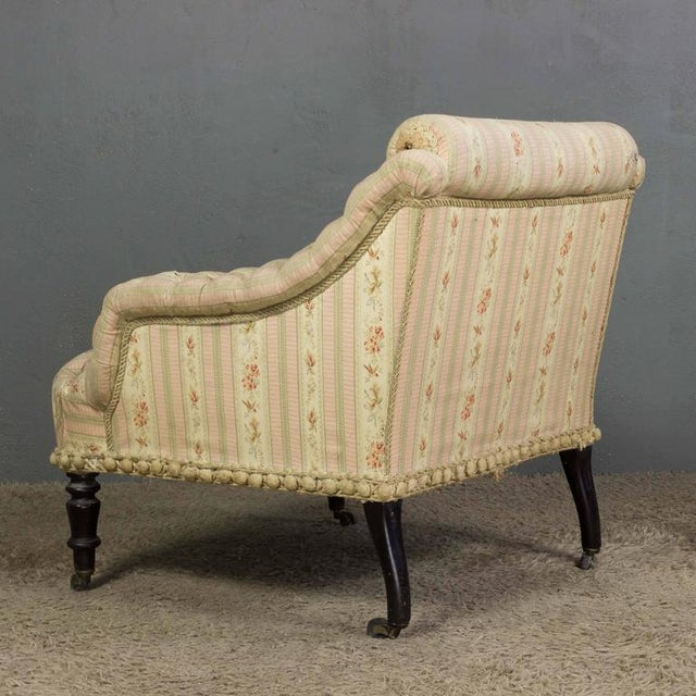 French French 19th Century Armchair For Sale - Image 3 of 11