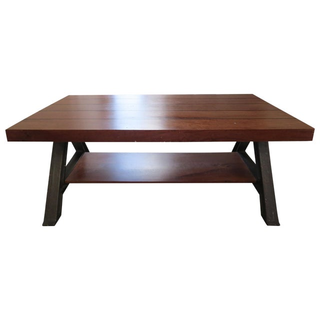Richard Velloso For West Elm Coffee Table Chairish - West elm coffee table sale