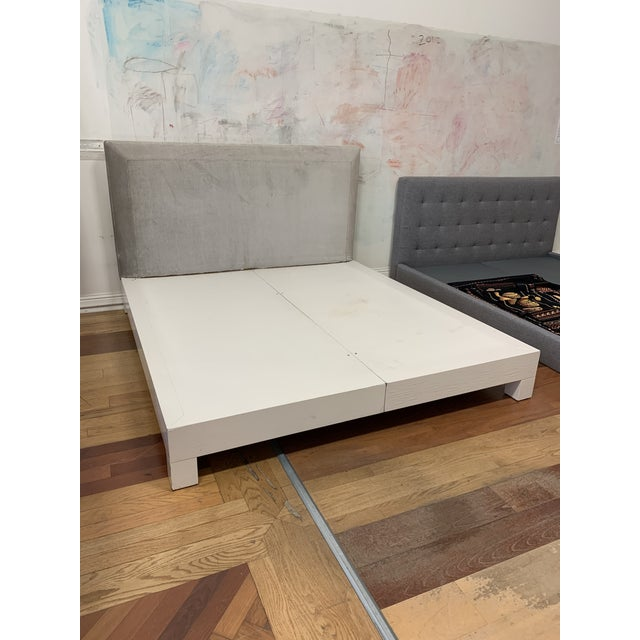 Design Plus Gallery presents an Eastern King Bed Frame by Donghia. The bed is beautifully upholstered in fabric called...