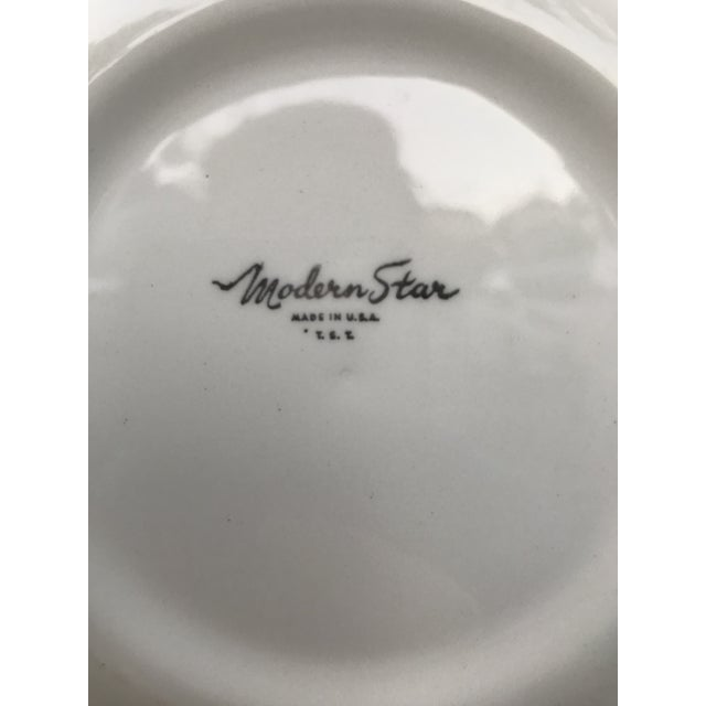 Mid-Century Modern Homer Laughlin Modern Star Dishes For Sale - Image 3 of 10