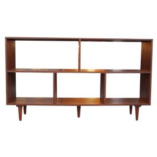 "Walnut 60"" Bookcase For Sale"