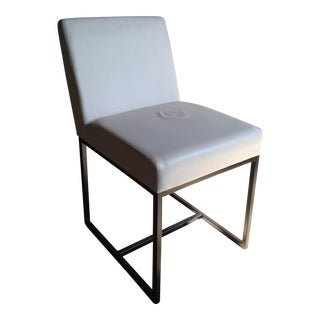 RH Emery Track Arm Leather Side Chair