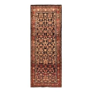 "Vintage Persian Hamadan Rug, 3'2"" X 9'9"""