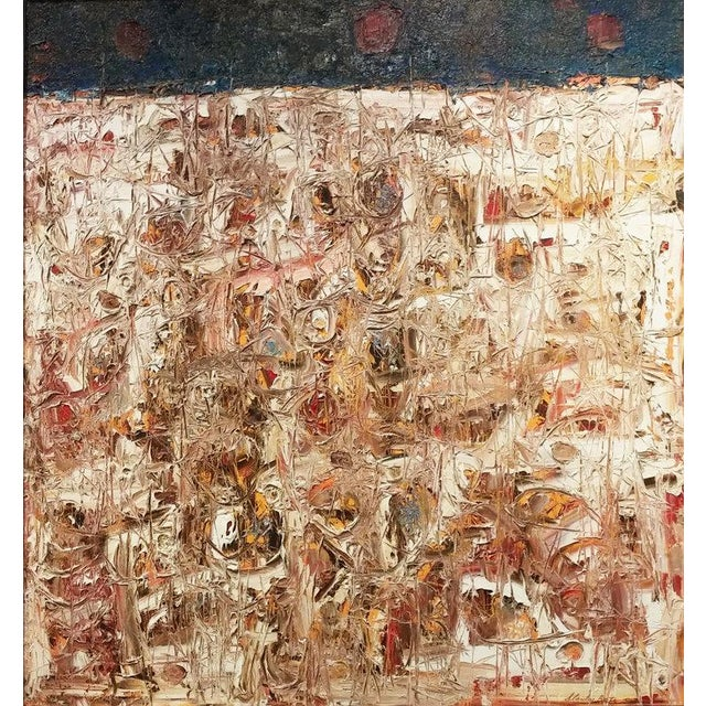 Stanley Bate, Spring Thaw Painting, Circa 1960 For Sale In New York - Image 6 of 6