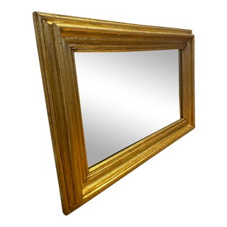 Antique Gold Gilt Mirror For Sale