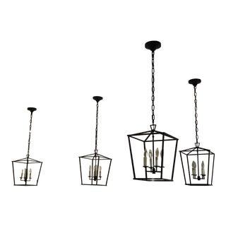 Chapman Style Lanterns - Set of 4 For Sale