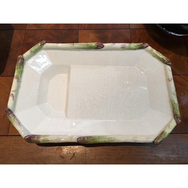Asparagus Italian Serving Plate - Image 5 of 5