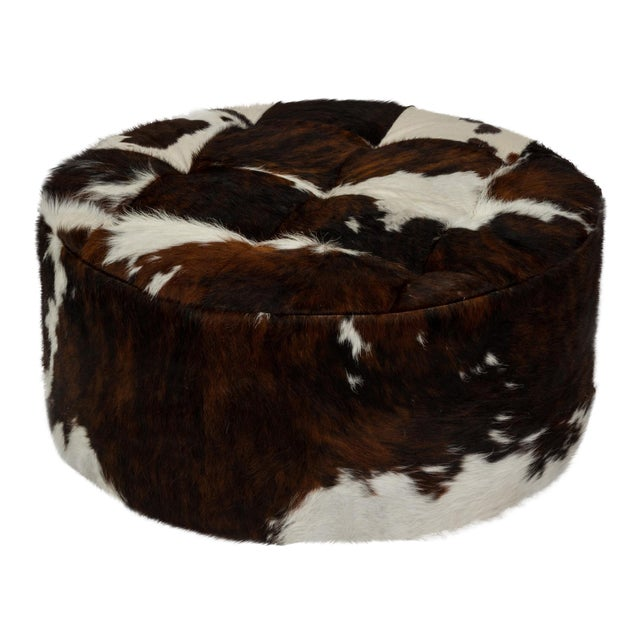 "Solly Tri-Color Cloud 24"" Ottoman For Sale"