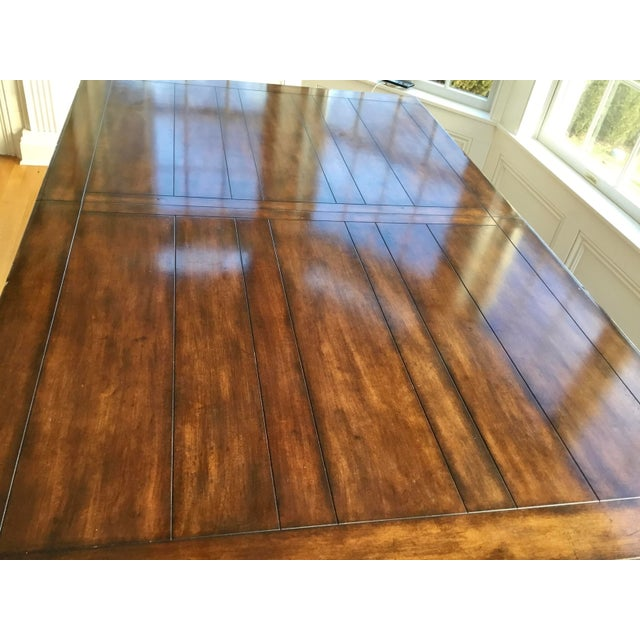 French French Country Distressed Dining Table For Sale - Image 3 of 10