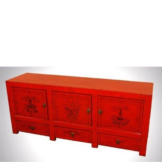 Antique Mongolian Sideboard Preview