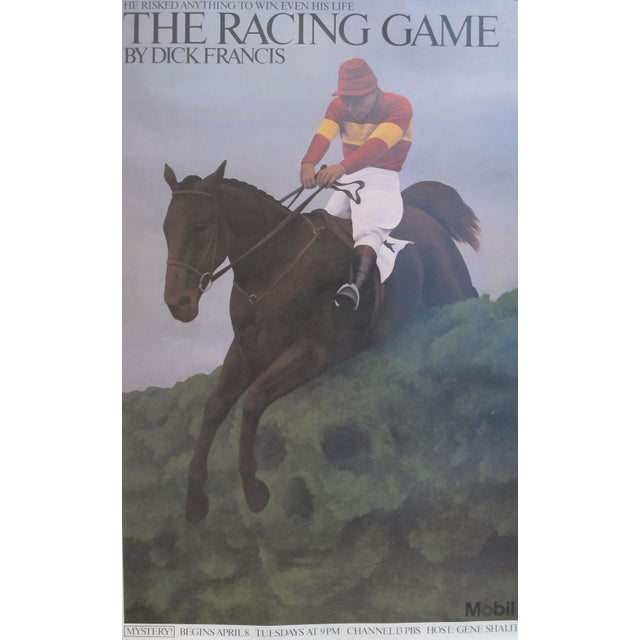 Vintage American Horse Racing Poster C 1979 - Image 2 of 2