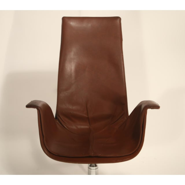 Fk 6725 'Bird' Chair by Preben Fabricius and Jorgen Kastholm for Alfred Kill For Sale - Image 9 of 13