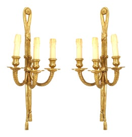 Image of Louis XVI Sconces and Wall Lamps