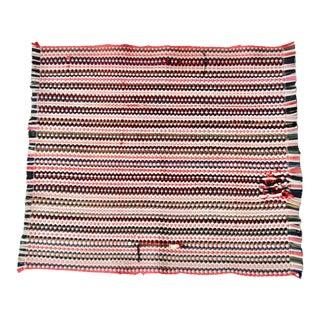 Vintage Rag Rug For Sale