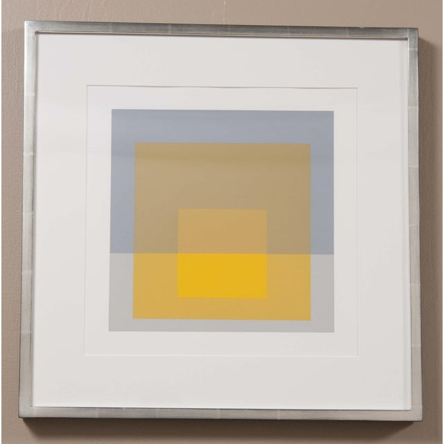 Modern Josef Albers Print From the Series Formulation and Articulation For Sale - Image 3 of 3