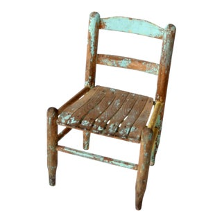 Vintage Children's Chair For Sale
