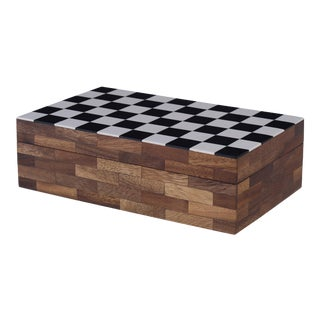 Curated Kravet Checkmate Box For Sale
