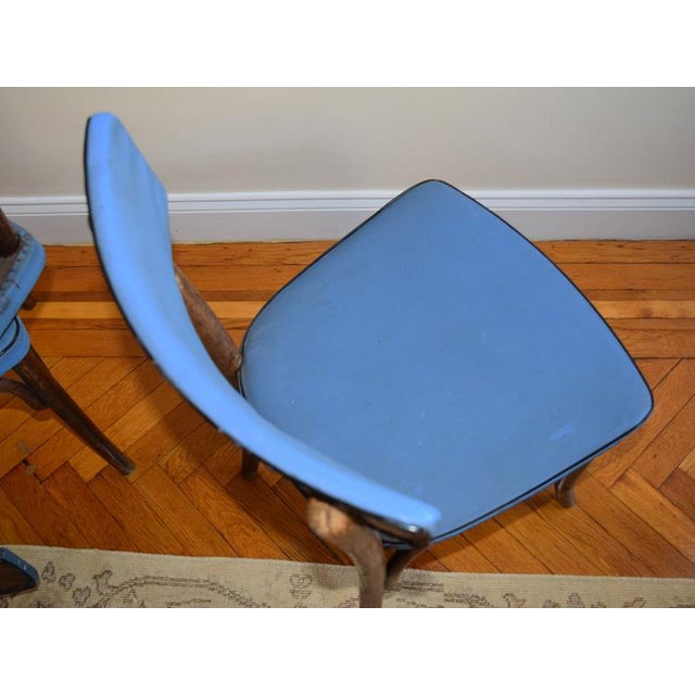 Wood 1950s Vintage Thonet Cafe Chairs- Set of 3 For Sale - Image 7 of 9