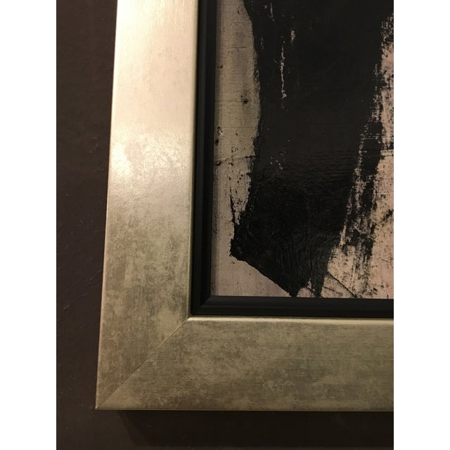 1960s 1960s Vintage Abstract Painting by Graham Harmon For Sale - Image 5 of 6