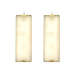 Italian 1950s Murano Wall Sconces - a Pair For Sale