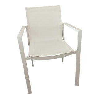 White Outdoor Julia Armchair For Sale