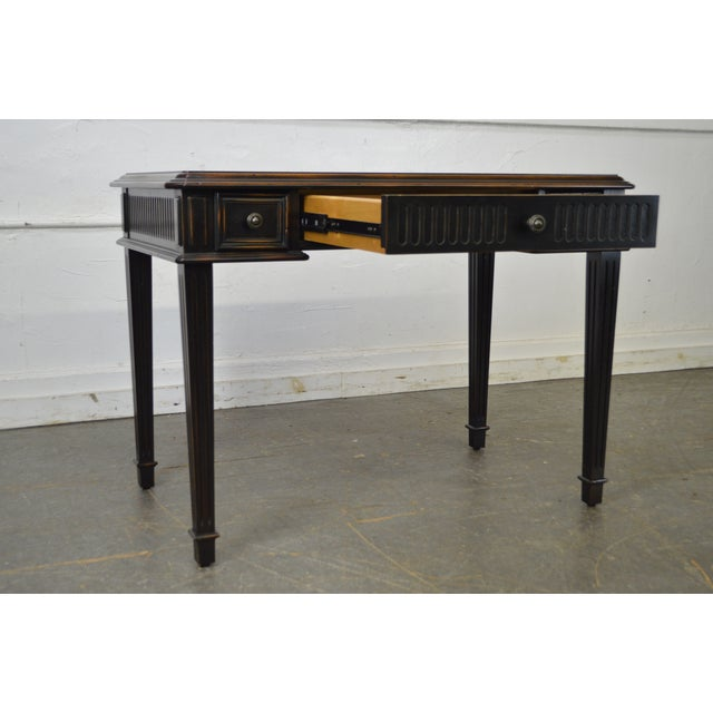 Hooker Furniture Hooker Furniture French Louis XVI Style Writing Desk For Sale - Image 4 of 10