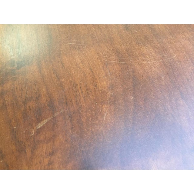 French Country Walnut Trestle Farmhouse Dining Table Chairish