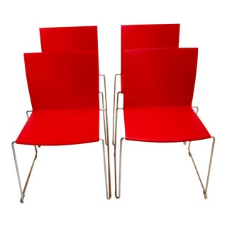 M1 Italian Chairs- Set of 4 For Sale