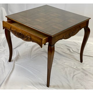 Vintage Hekman French Provincial Game / Card Table Preview