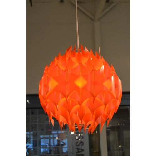 Mid-Century Pendant, France For Sale - Image 4 of 11