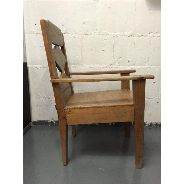 Mango Wood Indonesian Chair - Image 4 of 5