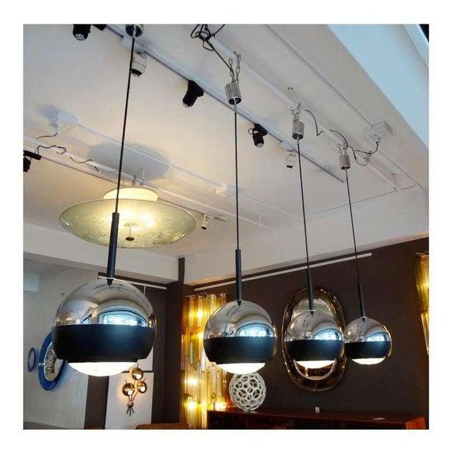Stilnovo Set of Four Hanging Lamps Italy circa 1965 - Image 4 of 5