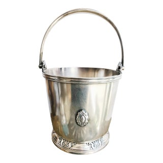 1933 Silver Plated Ice Bucket From the Waldorf-Astoria Hotel For Sale
