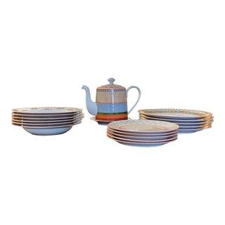 1990s Villeroy & Bosch Partial Dinner Service - 21 Pieces For Sale