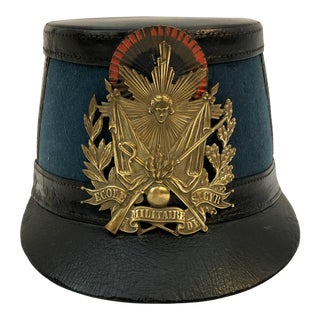 French Military Shako From the Military School of St Cyr For Sale